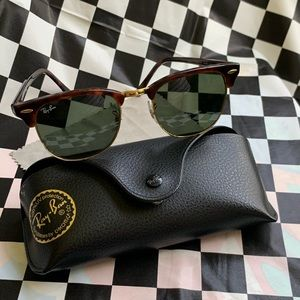 RayBan Clubmaster Sunglasses Flawless Baby!